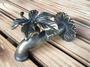 ★Top Garden★銅製水龍頭/楓葉,~黃銅水龍頭,造型水龍頭