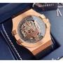 MASERATI 瑪莎拉蒂  POTENZA 機械錶 皮錶帶 海神 大三叉 手錶