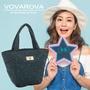 VOVAROVA x 莎莎-好朋友!手提托特包-滿天星莎-環遊世界系列