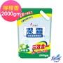 潔霜地板清潔劑-檸檬(補充包)2000g