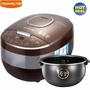 Joyoung F-40FS608 Smart Multi-cooker/Rice Cooker/Maker & Steamer & Slow Cooker, Smart Rice Cooker Booking Home Honeycomb Liner for Microcomputer Type Rice Cooker (Brown + 4L)