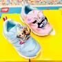 新款 日本 MOONSTAR 冰雪奇緣電燈兒童機能運動鞋