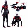 cos 蜘蛛俠 新紀元 小黑蛛 cosplay 蜘蛛人 黑色蜘蛛侠 毒液 連體全包緊身衣 扮演服裝  3D數碼印花