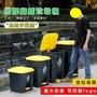 腳踏垃圾桶戶外腳踩腳踏式大號大型廚房家用商用飯店帶蓋大大容量 MKS免運