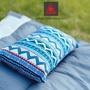 【露營趣】KAZMI K6T3M001 民族風攜帶式棉枕 露營枕頭 非充氣枕頭
