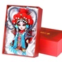 中國風絹人北京禮物娟人京味娃娃公仔擺件京劇臉譜戲曲人物單位出國禮品