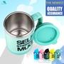 【正品現貨】 400ml不銹鋼自動攪拌咖啡杯子 電動咖啡馬克杯
