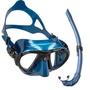 【Water Pro水上運動用品專賣店】{Cressi}-Nano 低容積面鏡 Corsica 濕式呼吸管 自由潛水
