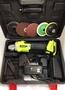 無刷鋰電角磨機 芝浦 21V雙電池 4.0Ah 多功能拋光機 / 切割機 / 打磨機 / 充電式角向磨光機  保固半年