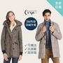 【Corpo X】3M科技羽絨可機洗極地保暖外套(A.雙排釦風衣外套/B.騎士顯瘦夾克外套/C.長軍裝外套)