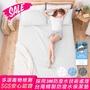 3M防潑水床包式保潔墊(雙人)--全館免運費【暖暖】