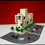 1:144比例、1:150比例通用 高達奧特曼 戰損大樓 建築場景 模型套装 塑膠材質 預購約12天到貨
