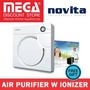 Novita Nap101I Air Purifier With Built-In Ionizer / Free Filter Pack