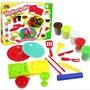 ◎凍感超人◎【AB-175A】鐵板燒彩泥玩具 過家家益智玩具 彩泥套裝 橡皮泥 黏土