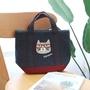 👉現貨💕日本kusuguru眼鏡貓手提包