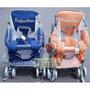 麗嬰兒童玩具館~輕巧三用揹架手推車(透氣款) 可當機車椅