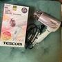 二手❤️9.9新。TESCOM TID721 TID721TW 低噪音負離子吹風機 靜音吹風機 負離子吹風機✨