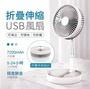 現貨 POSHOPღ 創新折疊伸縮USB風扇 隨身風扇 伸縮折疊風扇 USB充電風扇