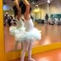 二手女童芭蕾舞衣 女寶女幼童公主舞衣 澎裙 舞蹈課韻律