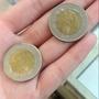 86年雙色50元硬幣