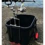 《競工坊》 睿研磯釣誘餌桶竿架, 白鐵材質輕便好攜帶 釣魚竿架 釣竿架 置竿架