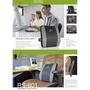 呵護腰及脊椎 最佳贈禮 Spine--家用/辦公室用 多國專利可調式護腰墊 RS801(黑灰)