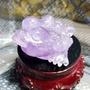 紫水晶三腳招財蟾蜍