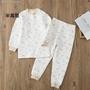 ☎✳❈麗嬰房空氣層套裝男女寶寶夾棉保暖套裝兒童內衣套裝2018冬裝新款