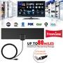 高清4K數字電視天線(簡化版) 黑色