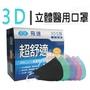 【現貨-公司貨付發票】台灣製-AOK 飛速 超舒適 3D醫用口罩 50入/盒 成人口罩 兒童口罩 幼兒口罩 立體口罩