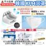 韓國🇰🇷大人款KF94醫用級口罩防毒94%=韓國醫療機構最推薦N95級👍武漢肺炎口罩➰20片