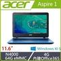 ACER  A111-31-C3M0 11.6吋小筆電 藍 N4000四核心/4G/64G SSD/Win10