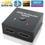 HDMI切換器二進一出分屏器hdmi高清視頻1進2出智能雙向支持4K2k3D 二合一