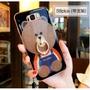 可愛熊情侶三星s8手機殼女款潮男s8plus保護套s8+ 手機殼個性創意