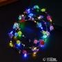 11.11超值折扣 兒童成人發光花環頭飾 夜市地推小禮物 創意玩具花環