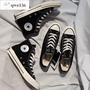 現貨 Converse 三星標 匡威1970s 情侶款 高筒 黑色 低筒 帆布鞋 男 女鞋 162058C