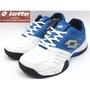 樂得LOTTO 男款全地形網球鞋 / 多功能運動鞋 (白/ 藍6806)