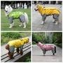 寵物雨衣 狗狗雨衣四腳防水泰迪金毛中大型犬全包拉布拉多寵物雨披大狗雨衣 1995生活雜貨