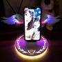 [免運]ONAIR 天使翅膀無線充電充電器 送 充電線 天使之翼 用於 iPhone11 XR S10 無線快充 充電盤