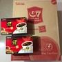 越南G7咖啡 黑咖啡 g7咖啡 整箱24盒