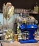 小富士鬼齒家用磨豆機 紺青色限量版(附不鏽鋼拋光接粉器) FUJI ROYAL DX R-220(公司貨、保固一年)、含稅《vvcafe》