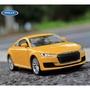 阿莎力 Welly 威利 奧迪 AUDI TT 正版授權 1:36 1/36 合金車 模型車 迴力車
