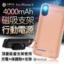 【12號】台灣認證殼霸背夾行動充檢驗合格投保產險 IPhoneX/XS/8/7/6/6sPlus 磁吸式 背夾充 蘋果