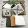 熱賣促銷@禪繞畫紙磚  8.9厘米方形紙磚纏繞白色黑手繪插畫美術紙