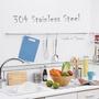 【304不鏽鋼120cm吊桿組】廚房多功能吊桿組(含3個S勾)●台灣製造●高屋<K01-005>