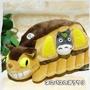 17110700020 搭貓公車造型娃S-灰龍貓 宮崎駿 龍貓 TOTORO 豆豆龍 貓公車 布偶 絨毛娃娃