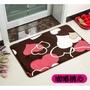 【加厚加密】花色法蘭絨地毯(含防滑墊)