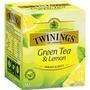 現貨【英國皇室御用 TWININGS 唐寧】檸檬綠茶 10入/盒