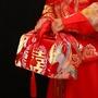 雷運 結婚用品新娘中式紅包袱皮女方嫁妝 陪嫁用品婚禮道具紅布