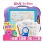 兒童畫畫板磁性寫字板寶寶小孩玩具磁力彩色塗鴉板LX 居家